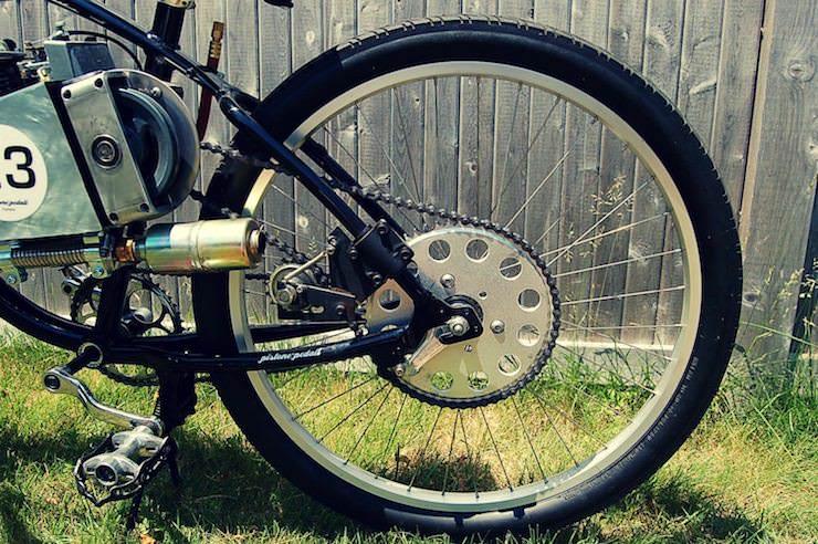 motorized bicycle 11