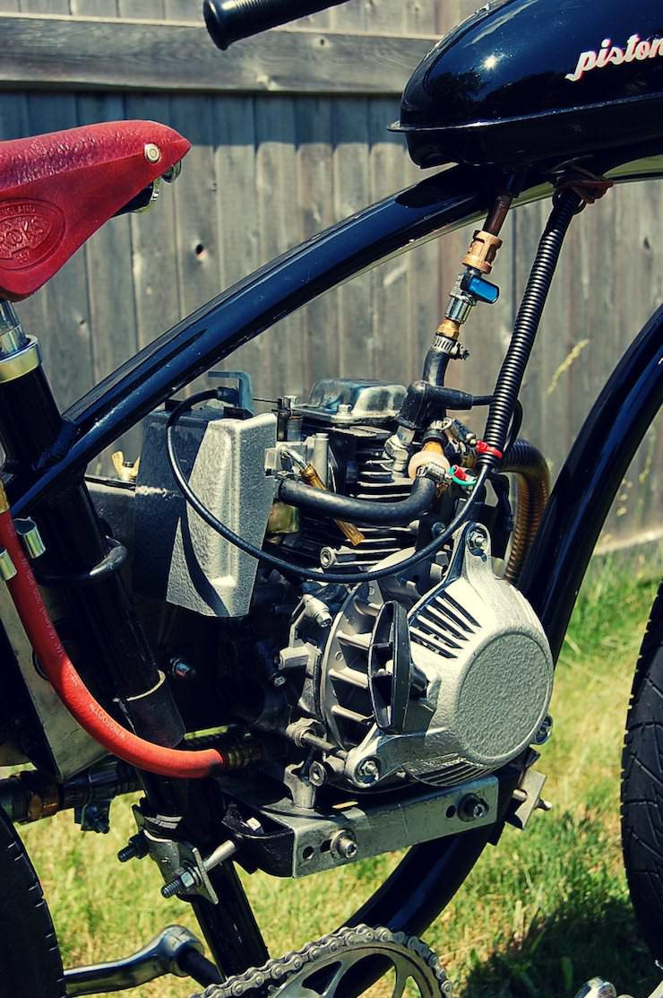 The Pistone-Pedali Motorised Bicycle