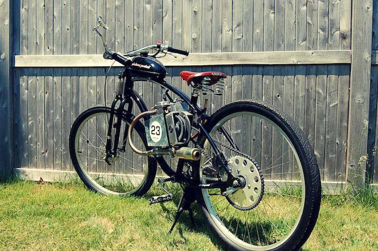 The Pistone-Pedali Motorised Bicycle by Chris Rindos