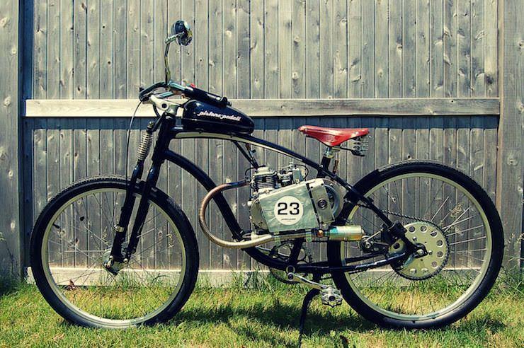 motorized bicycle 6