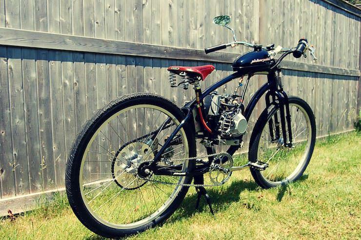 motorized bicycle 9