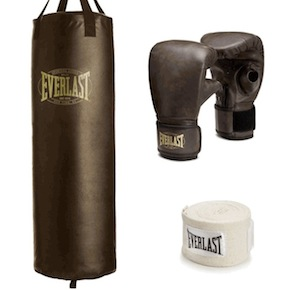 vintage 1910 heavy bag kit 2 - Vintage 1910 Heavy Bag Kit by Everlast