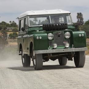 1969 Land Rover IIA Hardtop 2.25 5