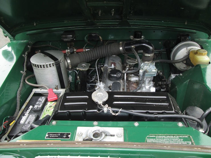 1969 Land Rover IIA Hardtop 2.25 engine