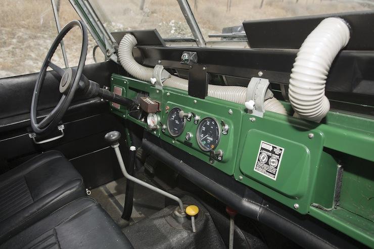 1969 Land Rover IIA Hardtop 2.25 interior 1969 Land Rover IIA Hardtop 2.25