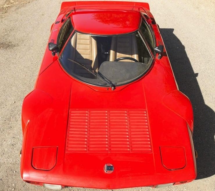 1972 Lancia Stratos Stradale 4 Bard Find: 1972 Lancia Stratos Stradale