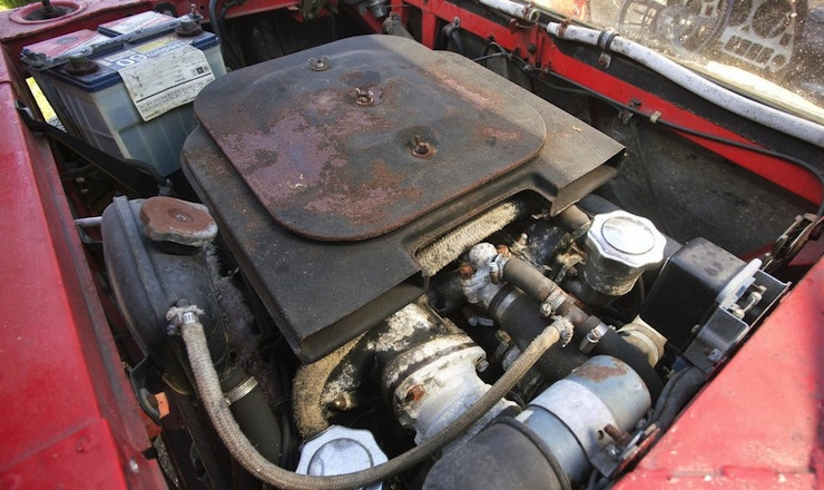 1972 Lancia Stratos Stradale engine