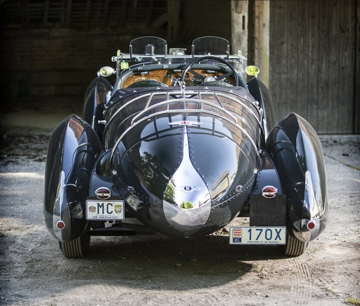 Bentley Petersen 3½-Litre Torpedo Roadster back
