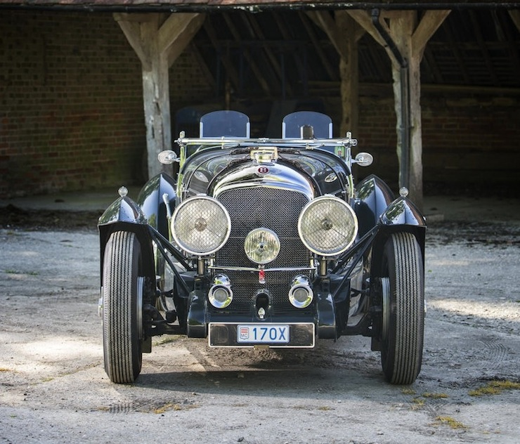 Bentley Petersen 3½-Litre Torpedo Roadster front