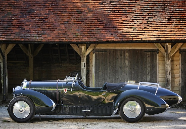 Bentley Petersen 3½-Litre Torpedo Roadster left side