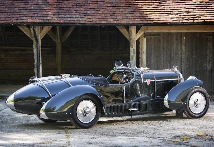 Bentley Petersen 3½-Litre Torpedo Roadster rear side