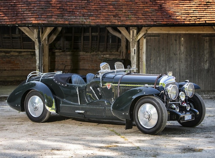 Bentley Petersen 3½-Litre Torpedo Roadster