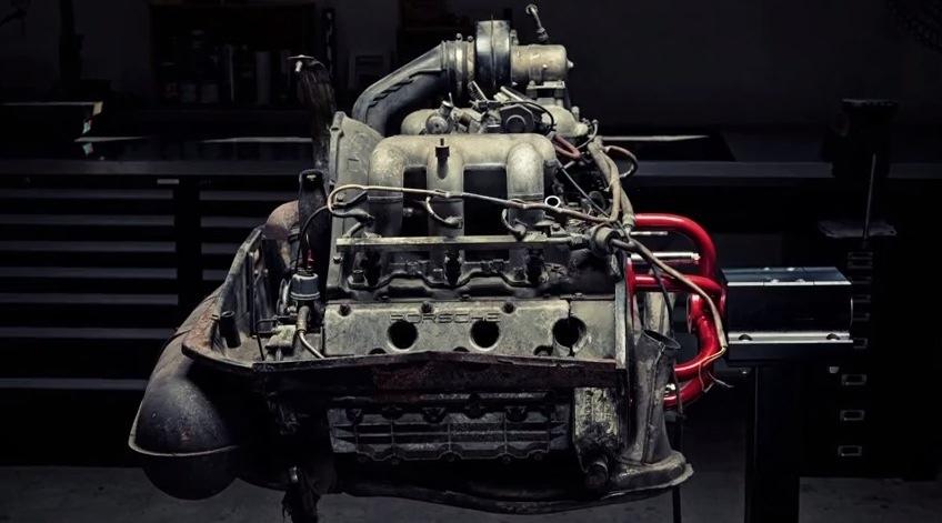 Beautiful Porsche Carrera 3.2 Engine Teardown