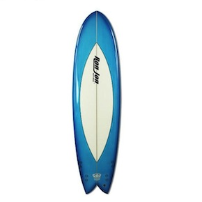Ron Jon 7 Quad Fish Surfboard