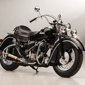 Steve McQueens 1946 Indian Chief 5 - Steve McQueen's First Motorcycle