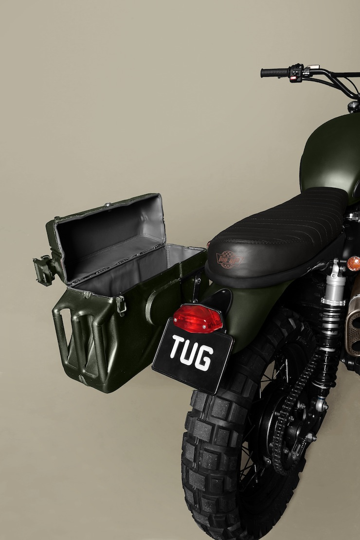 Triumph Scrambler customised