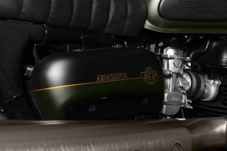 Triumph Scrambler motorbike
