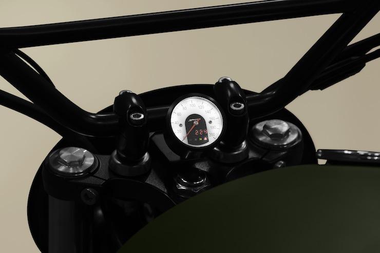 Triumph Scrambler motorcycle