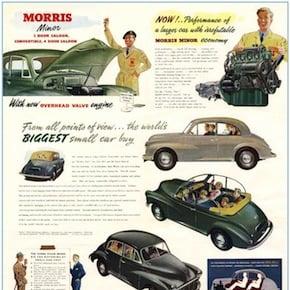 morris minor1 - Morris Minor Poster