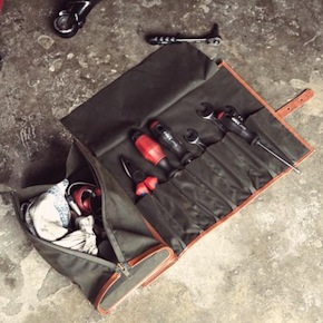 tool roll leather 1 740x4931 - Canvas & Leather Tool Roll by Niyona