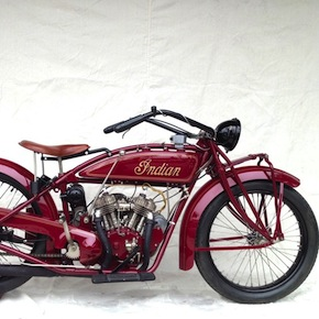 1924 Indian Scout V Twin2 - 1924 Indian Scout V-Twin