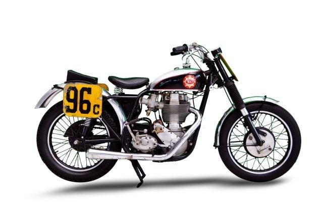 1956 BSA Gold Star TT Flat Track Motorcycle