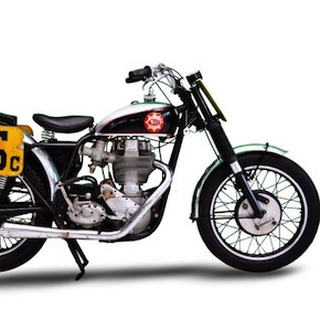 1956 BSA Gold Star TT Flat Track Motorcycle