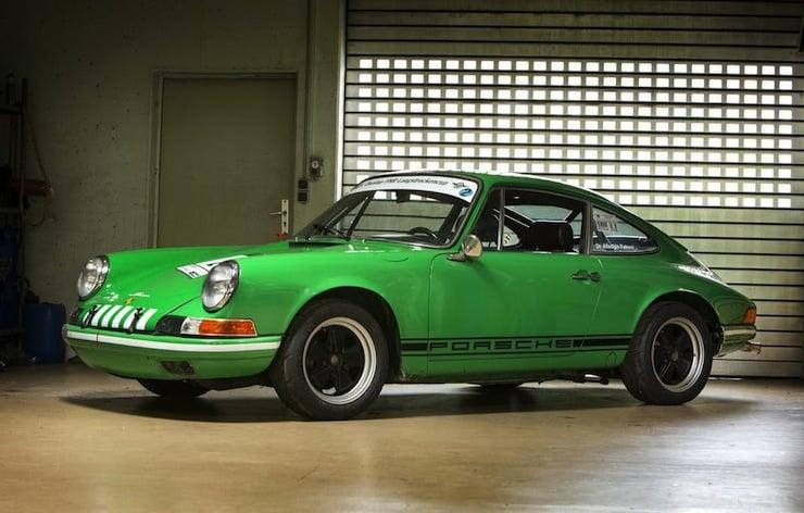1970 Porsche 911ST  1970 Porsche 911S/T Coupé
