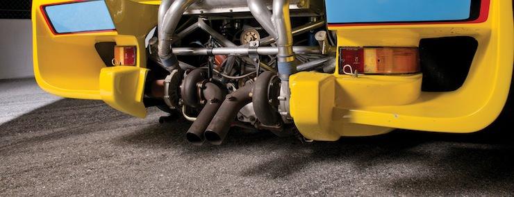 1976 Porsche 935 engine