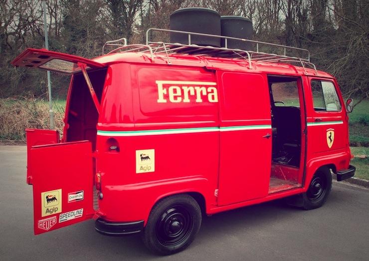 1979 Renault Estafette Ferrari Team Van 3 1979 Renault Estafette Ferrari Team Van