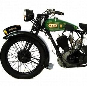BSA Sloper1 - 1928 BSA 557cc 'Sloper'