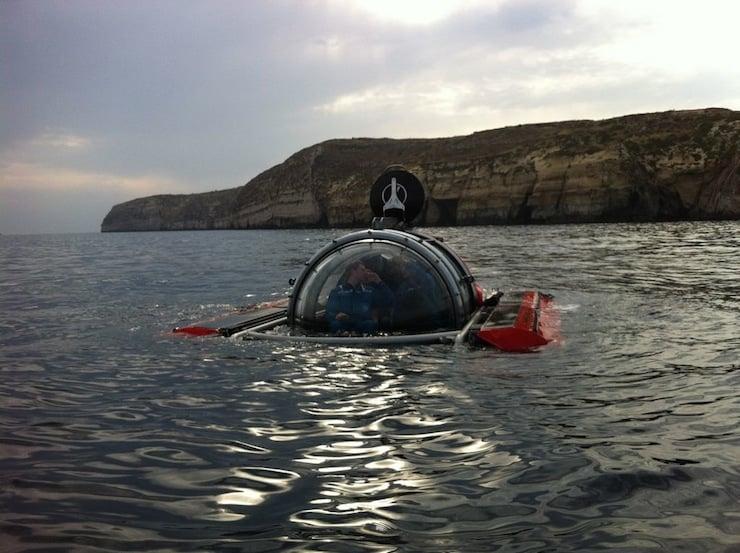 C-5 Explorer Personal Submarine