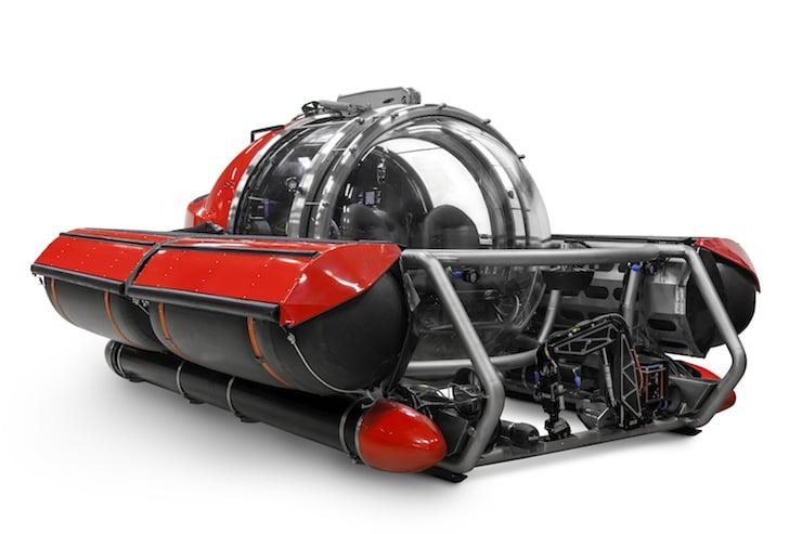 C 5 Explorer Personal Submarine