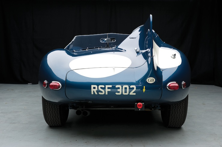 D-Type Jaguar back