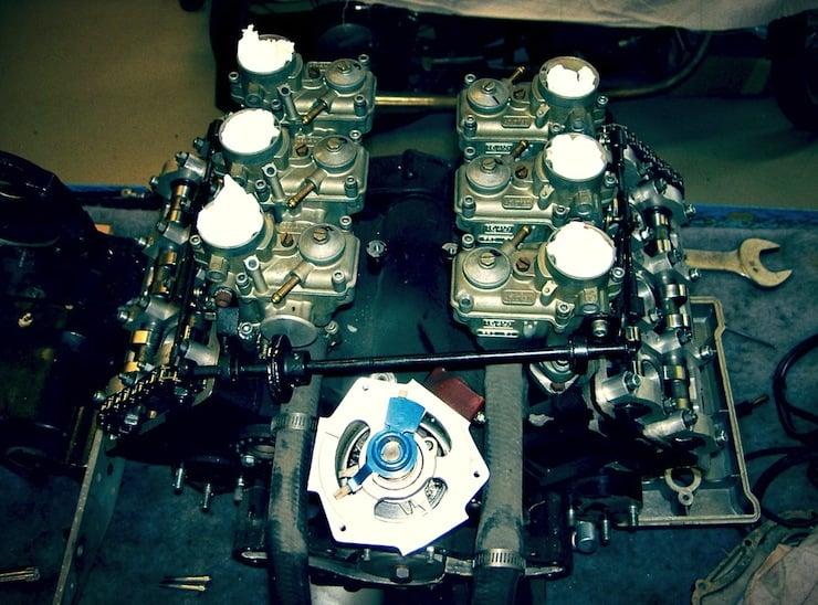 Laverda V6 Cor II The Laverda V6