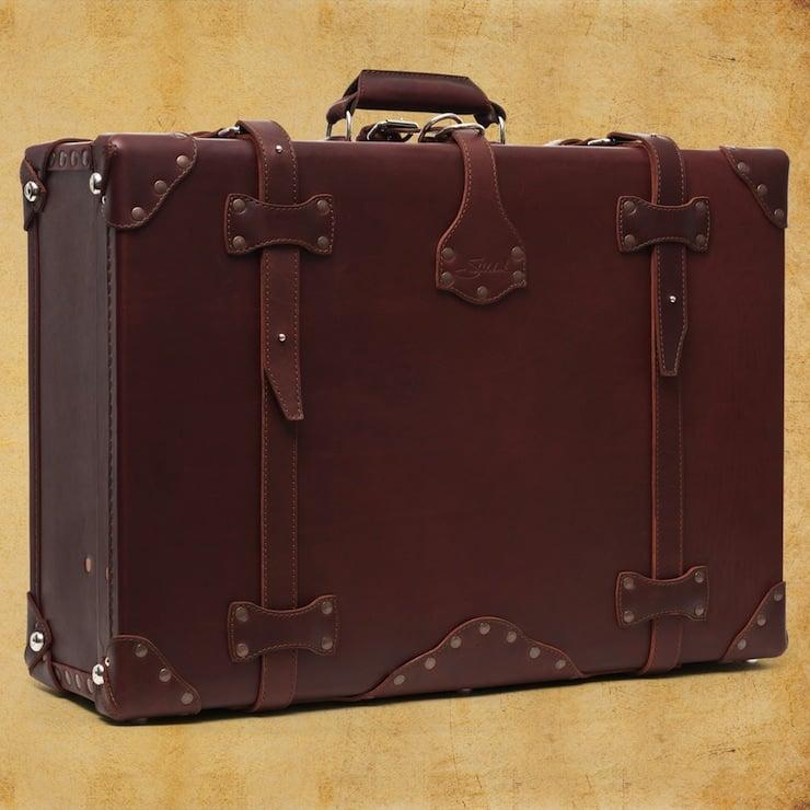 Leather Suitcase by Saddleback Leather