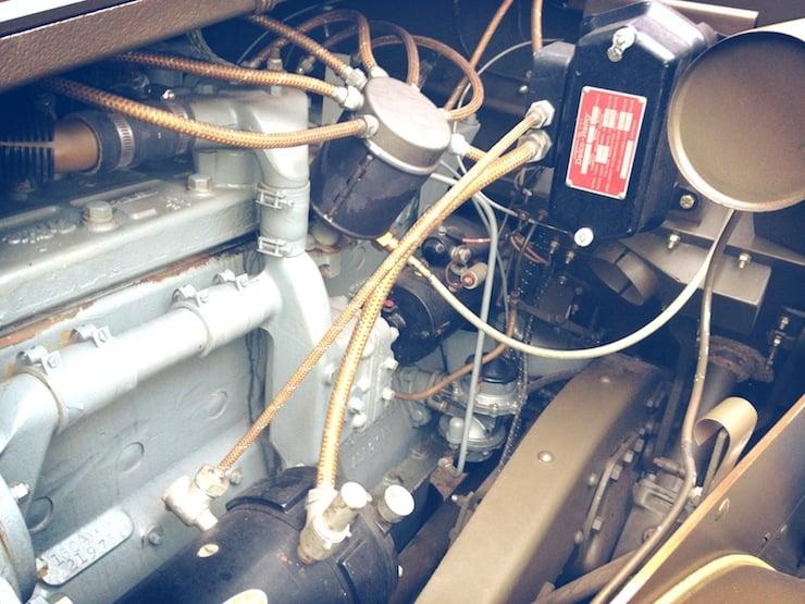 M3 Half-track engine