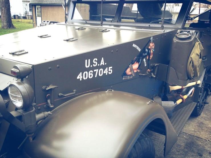 M3 Half-track front