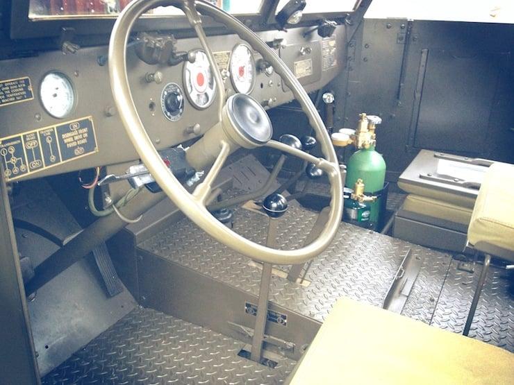 M3 Half-track interior
