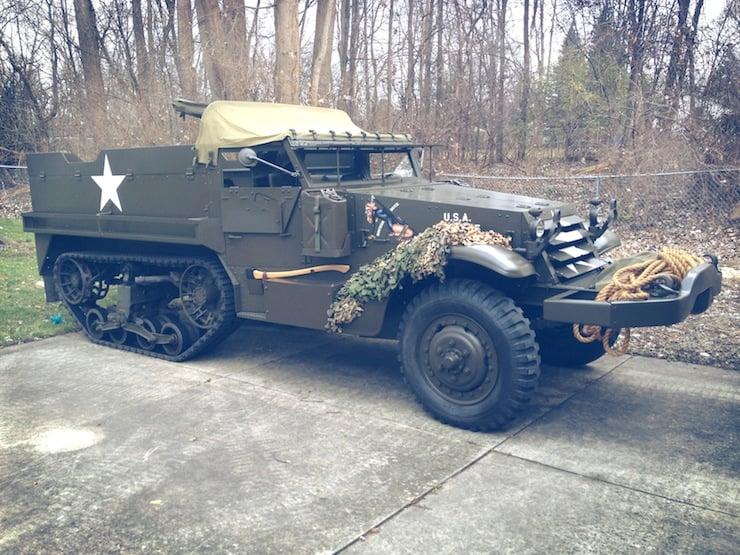 1943 M3 Half-Track