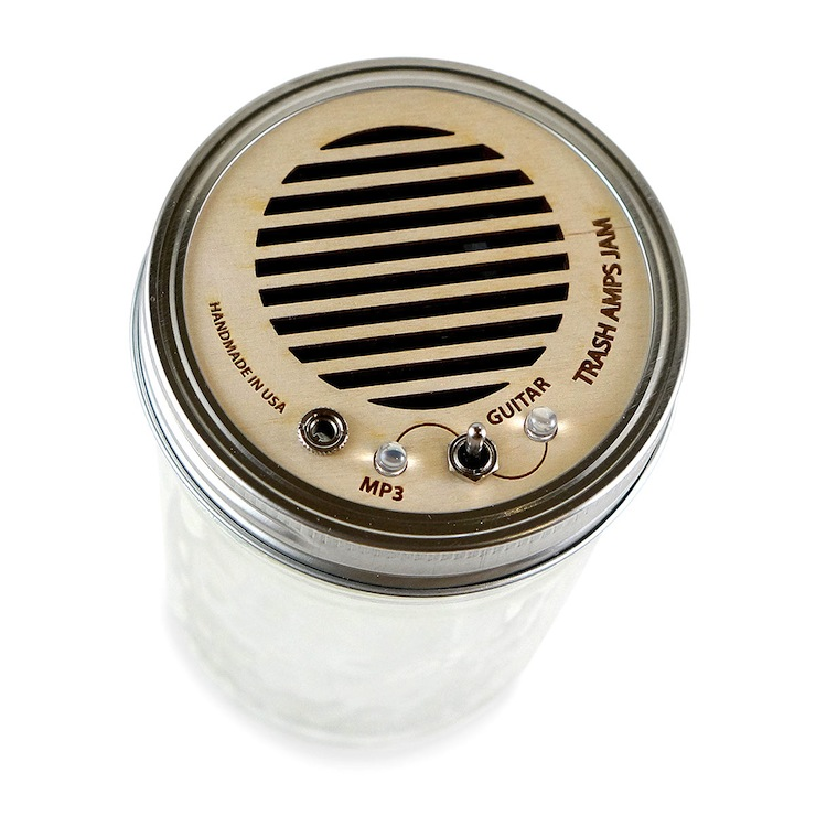 Mason Jar Speaker Amplifier 1 Mason Jar Speaker & Amplifier