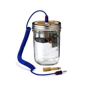 Mason Jar Speaker Amplifier1 - Mason Jar Speaker & Amplifier