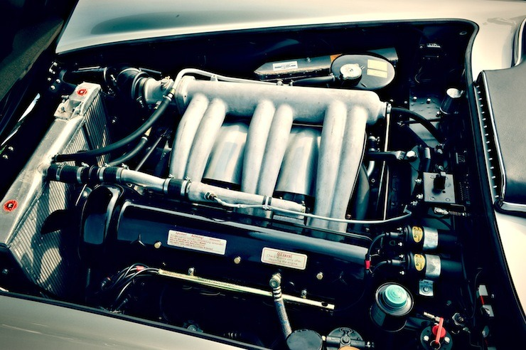 Mercedes-Benz 300 SLS Racing engine