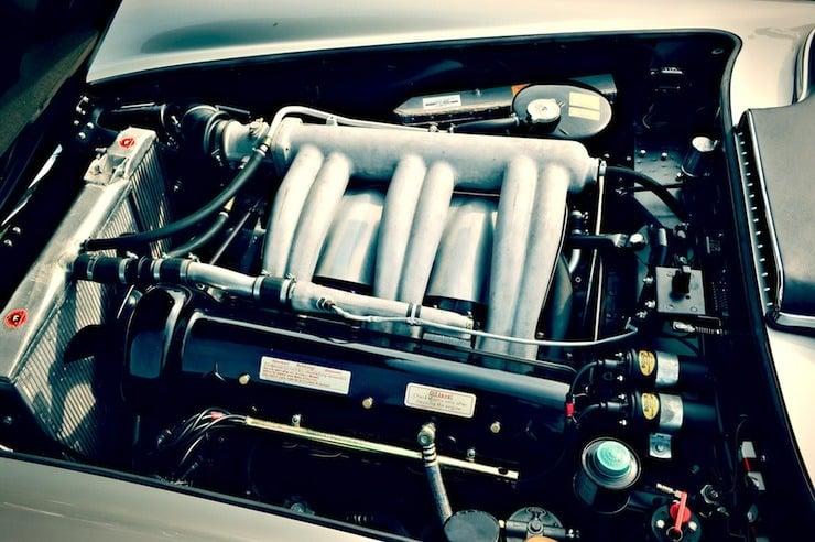 Mercedes-Benz 300 SLS Racing engine