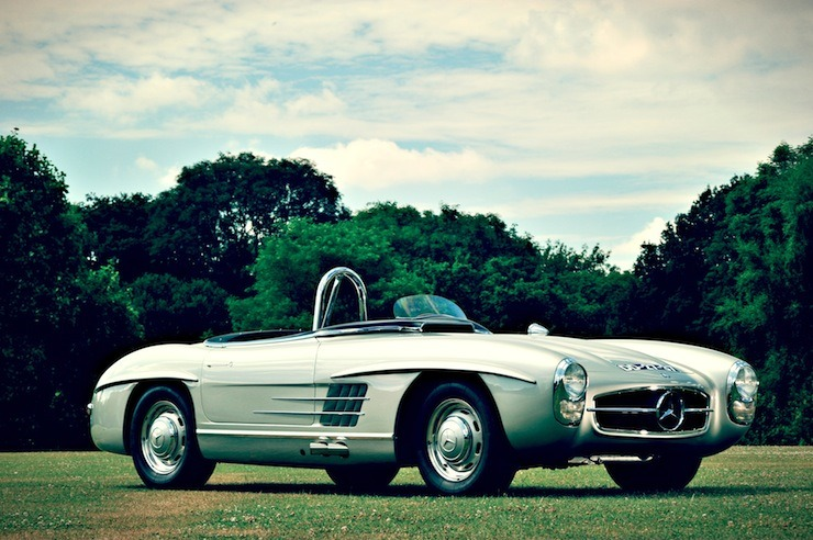Mercedes-Benz 300 SLS Racing front