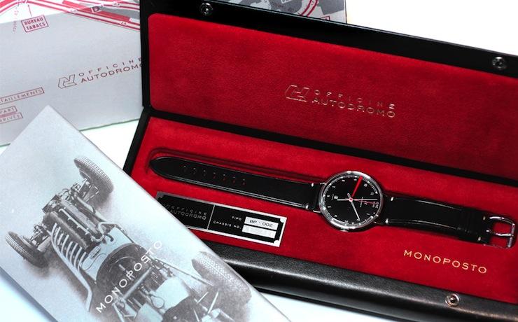 Monoposto wrist watch Autodromo Monoposto