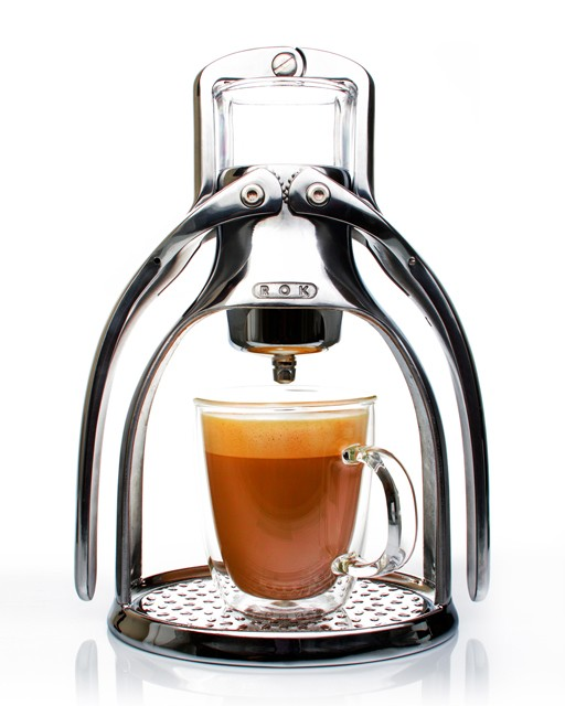 ROK Manual Espresso Maker coffee