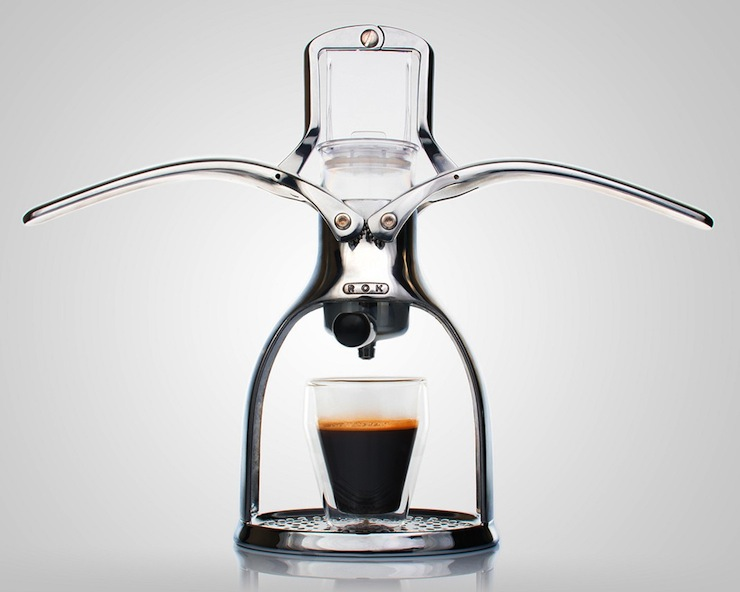 ROK Manual Espresso Maker gadget