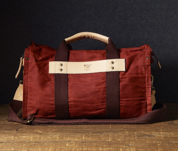 Wax Coated Canvas Duffle Bag WILL Leather Goods 1 Canvas Duffle Bag by WILL Leather Goods