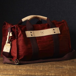 Wax Coated Canvas Duffle Bag WILL Leather Goods1 - Canvas Duffle Bag by WILL Leather Goods